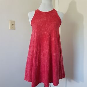 3/$45 💜 NEW Lulu's Washed Red Flare Dress